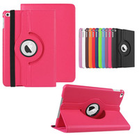 Wholesale Ipad4 Case China - Litchi 360 Rotating Leather smart Cover Case for ipad4 air 2 mini Retina 3 4 galaxy tab2 3 4 lite tab S A 7.0 10.1 8.4 inch Stand Cases