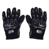 Wholesale Riding Full Finger Protective Gloves - Paired Full Finger Motorcycle Gloves Motorbike Outdoor Sports Riding Breathable Protective Gears Moto Racing Black M L XL XXL 177846101