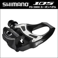 Wholesale Carbon Bike Pedal - SHIMANO 5800 Pedals SPD SL Carbon Pedals Floating Crampons 105 CARBONE With Crampons Road bike Bicycle 5800 pedals free boat