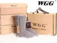 Wholesale Wholesale Flat Heeled Boots - High Quality WGG Women's Classic tall Boots Womens boots Boot Snow boots Winter boots leather boots boot US SIZE 5---13