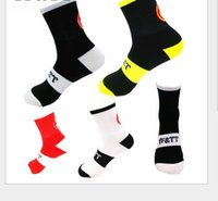 Wholesale cycling socks coolmax resale online - Hot Sale Coolmax High Quality Professional Brand Sport Socks Breathable Road Bicycle Socks Outdoor Sports Racing Cycling Footwear