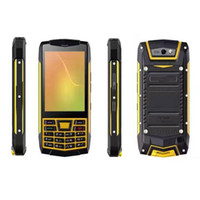 Wholesale Rugged Android 3g Gps - 3.5 Inch Rugged Phone UNIWA N2 IP68 Waterproof 1GB RAM 8GB ROM 3G Mobile Phone Android 6.0 MT658 0 Quad Core NFC SOS GPS F22 Factory Direct