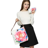 Wholesale Online Handbag Shopping - Clearance On Sale Chinese National Handbags Large Floral Women Totes Ladies Online Shopping Shoulder Bags HD-70079