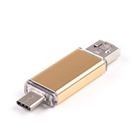Wholesale Phone Flash Drives - Type-C Micro USB OTG USB 3.0 Flash Drive 16gb 32gb 64gb Pendrive Smart Phone Pen Drive Memory U flash drive usb stick