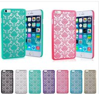 2016NEW Vintage Damast Mandala Datura Henna Blume Matte Hartplastik PC Transluzente Fall Abdeckung Für Apple iPhone 5 5S 6 Plus 6plus iPhone6