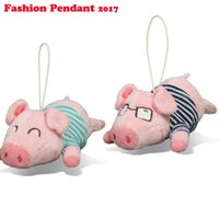 Wholesale Wholesale Pig Decor - Cute Cartoon Pig Decor Baby Kid Plush Toy Piggy Stuffed Toy Great Gift glasses plush pig keychain
