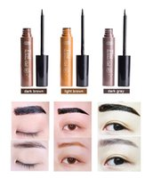 Wholesale Eyebrow Dye Color - 1Pcs\Lot Peel off Eyebrow Enhancer Tint Gel Tattoo Makeup Eyebrow Cream Dye Color Natural 7 Days Long Lasting 5g