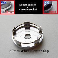 Wholesale Volvo Cap - 60mm 2.36inch car emblem wheel center caps for volvo XC90 XC70 XC60 V40 V50 V60 V70 V90 S40 S50 S60 S70 S90 auto emblem wheel badge caps