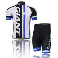 Wholesale Giant Apparel - Giant 2017 Hot Sale Cycling Apparel Set Bib Cycling Jersey Sets Short Sleeve Bicycle Body Suit Compressed Men Outdoor Bike Clothing