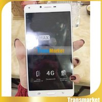 Wholesale Dual Sim Logo - 6.3Inch Jmax Big size Camera 4GB R0m 1GB ram Dual camera capacitive screen phones smart phones wifi with logo Free Dhl 1pc