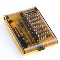 conjunto de telas para iphone venda por atacado-Chave de fenda Set Torx ScrewDrivers Casa 45in1 Multi-Bit Kit de Ferramentas de Reparo Para Samsung Iphone Substituição Da Tela Do PC