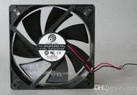 подвеска с вентилятором 12v оптовых-Логика PLA12025S12M 12cm втулки силы нося охлаждающий вентилятор с 120*120 * 25MM DC 12V 0.2 A 2 провода