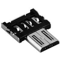 conexões profissionais venda por atacado-Atacado-DM de alta qualidade portátil adaptador OTG Linker Cable Interface USB Micro USB Turn Universal Pro para Android para Tablet Conexões