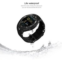 Wholesale Heart Rate Pulse Calorie Watch - Y1 Smart Watches IPS full perspective Round Touch Pedometer Calories Screen Sleep Monitor Activity Tracker smart watch for IOS Android