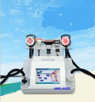 Wholesale used head lights - New model 5 heads Cavitation with bio led lights RF vacuum Two polar four polar photo facial weight loss spa home use machine