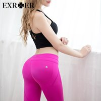 Wholesale Thin Qiaotun Yoga Pants thin hip tights high elastic bottom fitness pants