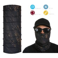 Al por mayor-Tubo Máscara Neck Gaiter Dust Shield Seamless Máscara Bandanas