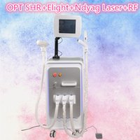 Wholesale laser hair removal for face - nd yag laser machine laser tattoo removal OPT shr laser hair removal equipment rf machine for skin