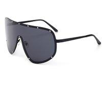 Wholesale Super Big Sunglasses - Super Big Frame Polarized Sunglasses Men Classic UV400 Trend Stars Wear Sun Glasses Women Large Frame Outdoor Sunglass Goggles A260