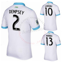 96db220b8 Seattle Sounders 2017 DEMPSEY MORRIS ALONSO CUSTOMIZED soccer uniform kits soccer  jerseys thai quality thailand quality football shirts kit ...
