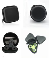 3 Tipos Fidget Spinner Pouch Hand Spinner Brinquedos Sacos de armazenamento Key Phone Cable Bluetooth Earphone USB CD Card Storage Bag Laptop Cases