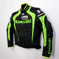Wholesale Motorcycle Jacket Nylon Waterproof - New arrival breathable belt cotton flanchard motorcycle jacket automobile race jacket have protection