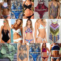 Wholesale Brazilian Clothing - Women's Clothing swimwear for women bikini swimsuits Lady solid color sexy Low Waist brazilian bikini swimming suits 488