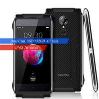 Wholesale Digital Camera Orange - HOMTOM HT20 Pro Fingerprint IP68 Waterproof Smartphone MT6753 Octa Core Android 6.0 3GB RAM 32GB ROM 4.7 inch OTG Cellphone