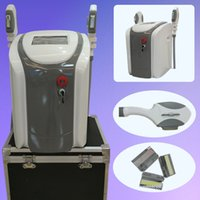 Wholesale Ipl Home Hair Removal Device - portable 2 handles opt shr ipl rapid hair removal home salon use ipl devices elight radio frequency 300000 shots
