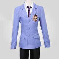 Wholesale Japanese Female School Uniforms - Ouran High School Host Club Cosplay Costume (Female Size) uniform suit cosplay personality clothing anime coats sweater