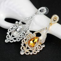 Crystal Long Pendurado Brincos Eagle gota rosa ouro Prata Cor Rhinestone Bridal Wedding Dangle Brincos Jóias