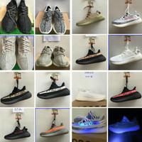 Wholesale Plus Size Shoes Flats - 14 color shoes 350V2 shoes sneakers plus size Boost 350 shoes snakers Pirate Black Kanye Milan West Boost 350