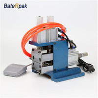 Wholesale Wire Length Machine - DZ-3F Pneumatic electric VERTICAL cable stripping machine,wire plasitc peel off machine,electric wire stripper,220V,length 0.5-25MM