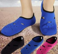 3-6T sports bamboo socks - Water Sports Diving Socks Anti Skid Beach Socks Swimming Surfing Socks Adult children Diving Boots Wet Suit Shoes