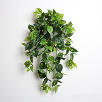 Wholesale Wall Decals Green Vines - Home Decor Wall Decals Green Plants Vines Ivy Grape Leaf Vines Grey Ivy Leaf For Indoor Decoration Mixed Lot