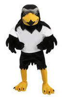 Wholesale Costum Hot - New brand High Quality Hot sale 2017 Deluxe Plush Falcon Mascot Costume Adult Size Eagle Mascotte Mascota Carnival Party Cosply Costum
