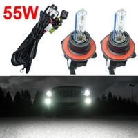 universal car wiring harness online whole distributors feeldo 55w car 12v ac hid bulbs xenon headlight lamp h13 9008 hi lo bi xenon wire harness