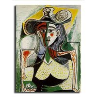 Wholesale Digital Photo Wall - oil Painting Picasso Hd printcanvas painting Photo print painting Print Wall Pictures forliving Room Picture GM-032