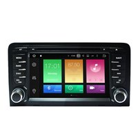 Wholesale S3 2g - 7' 2G RAM Octa-core Android 6.0.1 Car DVD Stereo For Audi A3 S3 2003-2011 GPS Multimedia Player 4K Video OBD DVR WIFI 4G OBD DVR USB SD AUX