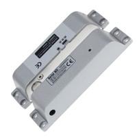 cıvata kapıları toptan satış-Yeni Tasarım Sıva Üstü Elektrikli Bolt Kilit DC12V Ahşap Kapı Sürgü için Güvenli Başarısız NC Modu Fail Güvenli Elektronik Kapı Bolt