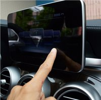 Wholesale Internal Screens - Center Control Navigation Screen Protection Trim Panel For Mercedes Benz C class W205 GLC 200 260 2015-17 Car Styling