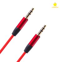 Câbles Hifi Rca Pas Cher-Câble auxiliaire audio 1.2M 3.5mm Wave AUX Extension Male to Male pour Samsung Phone PC MP3 Headphone Speaker