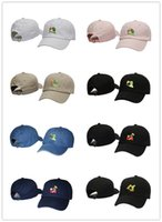 2017 Kermit Tea Hat The Frog Sipping Drinking Tea Baseball Dad Visor Cap Emoji Novo Popular 6 Painel polos caps chapéus para homens e mulheres
