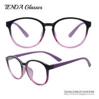 Wholesale Lightweight Prescription Eyeglasses - Wholesale- Men & Women Glasses Big Round Eyeglass Frame Lightweight Spectacles Prescription Eyeglasses For Clear Lenses