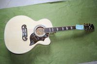 Wholesale Ec Guitar - Free shipping customized OEM guitar  Perennial supply SJ-185 acoustic guitar folk J - 185 ec 41 inch large amount