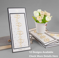 Wholesale Notepad Designs - Wholesale- 12 Designs 4 pcs lot Beautiful Fashion Golden Finished Sharp Paper Clips Notebook Accessories for Organizer Planner Page