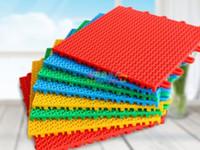 chão de basquete ao ar livre venda por atacado-2017 venda quente Tipo de Suspensão de Pavimento montado plástico esportes piso quadra de basquete pátio varanda ao ar livre piso do jardim de infância