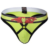 Biancheria intima Mens Sexy Jock Strap String Homme Intimo G-Strings Y Tangas Penna Bikini