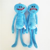 Wholesale Happy Plush - 9.8inch(25cm) Rick and Morty Happy Sad Meeseeks Stuffed Plush Toys Dolls For Kids Gift 2design