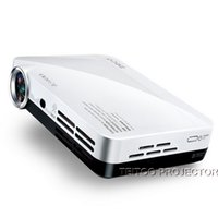 Wholesale Best Movies Hd - Wholesale-Best Mini Smart Home Theatre Andriod Projector 3D HD 1080P LED DLP Digital Beamer Maltimedia for Office School Outdoor Movies